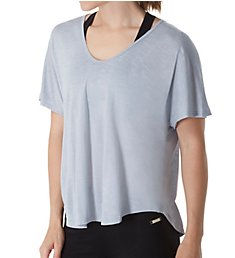 Calvin Klein Spacedye Jersey Tee with Inner T-Back PF7T010