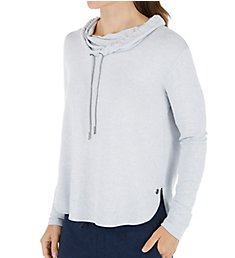 Calvin Klein Long Sleeve Cowl Neck Top PF8T322