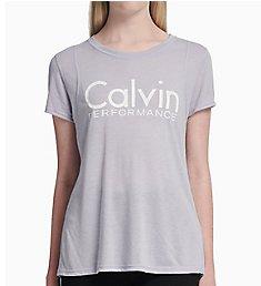 Calvin Klein Epic Knit Logo Short Sleeve T-Shirt PF8T536