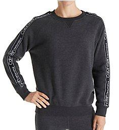 Calvin Klein Raglan Logo Fleece Crew Neck Pullover PF8T558