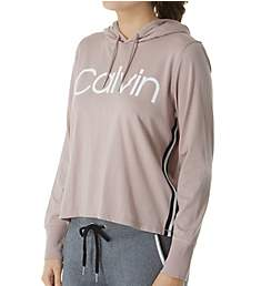 Calvin Klein Logo Long Sleeve Pullover Hoodie PF9T142