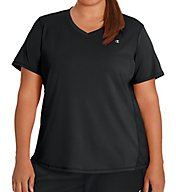 Champion Plus Size Vapor Select X-Temp V-Neck Tee w/FreshIQ QW5401