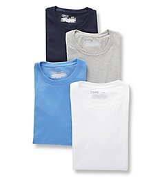 Chaps Extended Size Essential Crew Neck T-Shirt - 4 Pack CUC2P4
