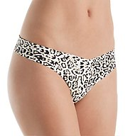 Commando Printed Thong Low-Rise CTP