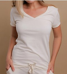 Cottonique Athletic V-Neck Shirt W12292