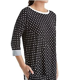 DKNY Resort Lounging 3/4 Sleeve Top 2013487