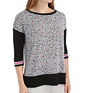 DKNY Game Changer 3/4 Sleeve Top 2113379