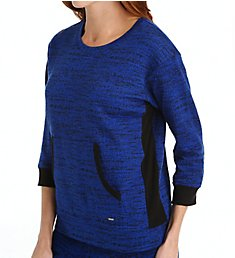 DKNY Weekend Stroll 3/4 Sleeve Top 2113408