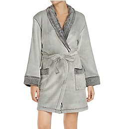 DKNY Signature Sheared Fleece Robe 2219298
