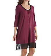 DKNY Urban Essentials 3/4 Sleeve Sleepshirt 2313476