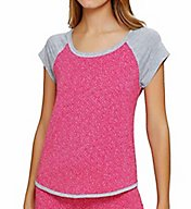 DKNY Heart to Please Short Sleeve Top 2413425
