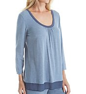 DKNY Urban Essentials 3/4 Sleeve Top 2413432