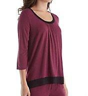 DKNY Urban Essentials 3/4 Sleeve Top 2413476