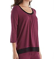 DKNY Urban Essentials 3/4 Sleeve Top 2413476