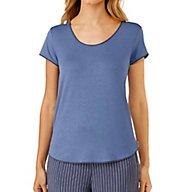 DKNY Blue Note Short Sleeve Top 2419232