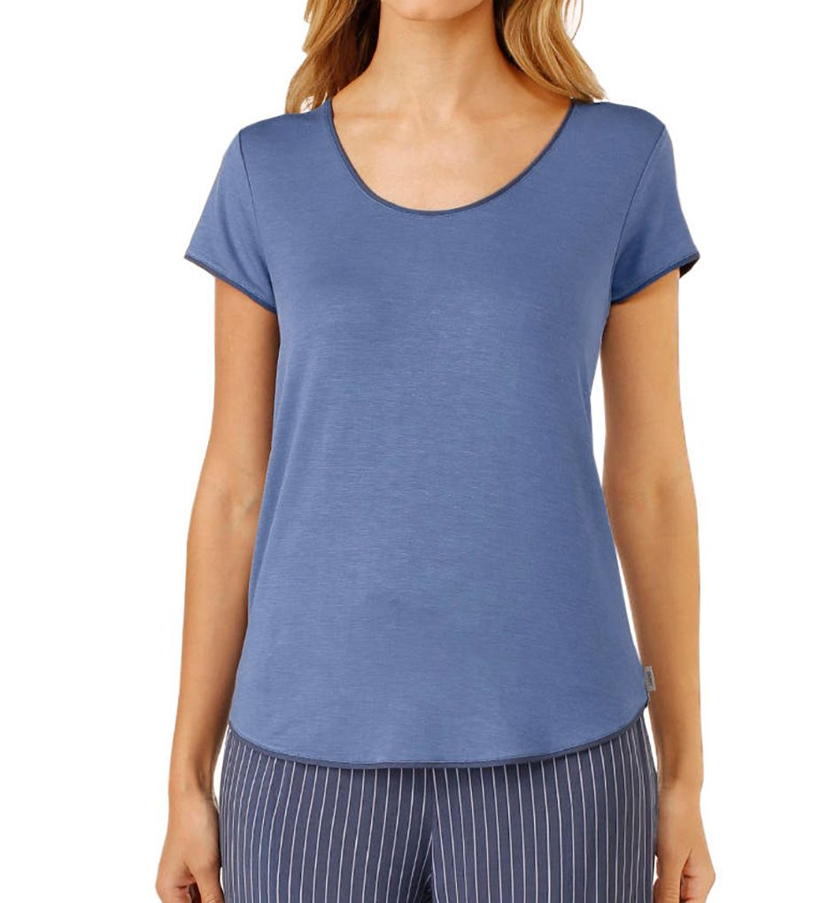 DKNY Blue Note Short Sleeve Top 2419232