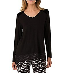 DKNY Shadows Long Sleeve Top 2419295