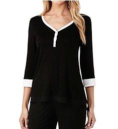 DKNY Season Silhouettes 3/4 Sleeve Top 2419300
