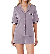 DKNY The Weekender Short Sleeve Top & Boxer Set 2919218