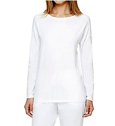 DKNY Soft Jersey Long Sleeve Top 3013308