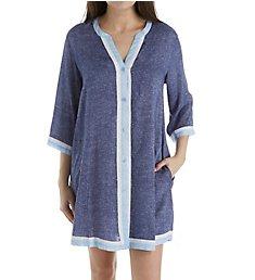 Donna Karan Sleepwear Peacoat Sleepshirt D236920