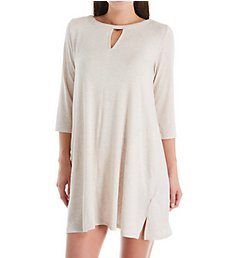 Donna Karan Sleepwear Sleepshirt with Keyhole D336964