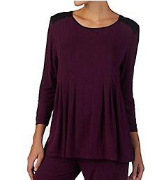 Donna Karan Sleepwear Classic 3/4 Sleeve Top D346906
