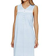 Eileen West Geo Short Nightgown 5016052