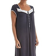 Eileen West Cap Sleeve Waltz Nightgown 5016074