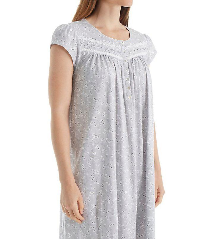 Eileen West Cap Sleeve Short Nightgown 5016075