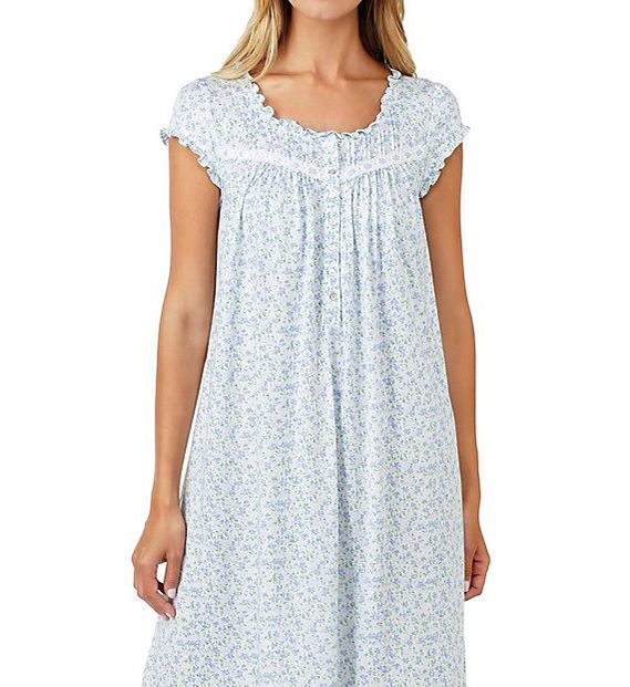 Eileen West Peri Floral Modal Waltz Nightgown 5016182