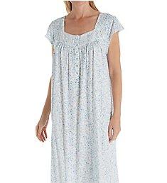 Eileen West Cotton Modal Cap Sleeve Waltz Nightgown 5019954