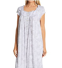 Eileen West Cap Sleeve Modal Spandex Knit Waltz Nightgown 5020177