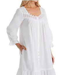 Eileen West Delicate Cotton Lawn Short Button Front Coat 5120006