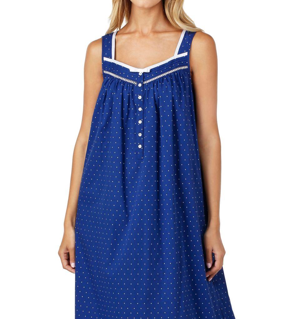 Eileen West Sail Away Cotton Woven Ballet Nightgown 5216163