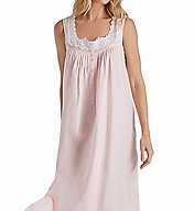 Eileen West Rose Solid Cotton Lawn Ballet Nightgown 5216169