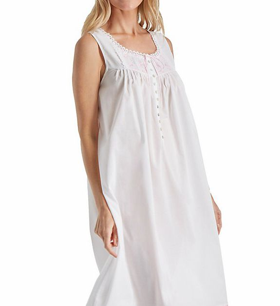 Eileen West Pink Embroidery Ballet Nightgown 5216185