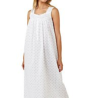Eileen West Twilight Bay Cotton Lawn Sleeveless Nightgown 5216187