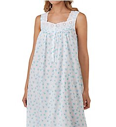 Eileen West Seaglass Cotton Lawn Ballet Nightgown 5219844