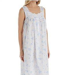Eileen West Blue Floral Ballet Nightgown 5219860