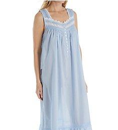 Eileen West Delphinium Sheer Stripe Ballet Nightgown 5219861