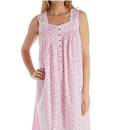 Eileen West Pink Floral Ballet Nightgown 5219875