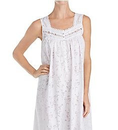 Eileen West Floral Burnout Ballet Nightgown 5219883