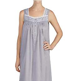 Eileen West Chambray 100% Cotton Chambray Ballet Nightgown 5219906