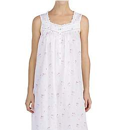 Eileen West Bouquet Toss Cotton Lawn Ballet Nightgown 5219908