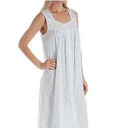 Eileen West Scroll Cotton Lawn Sleeveless Ballet Nightgown 5219951