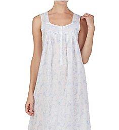 Eileen West Floral Scroll Cotton Swiss Dot Ballet Nightgown 5219983