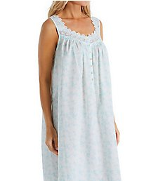 Eileen West Floral Scroll Cotton Lawn Ballet Nightgown 5220007