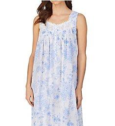 Eileen West 100% Cotton Woven Sleeveless Long Nightgown 5220118