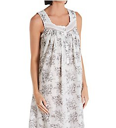 Eileen West Cotton Woven Lawn Long Ballet Nightgown 5220127